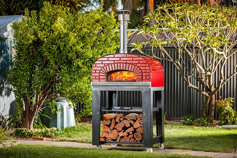 Wood Oven Pizza Speedy 4 Alforno